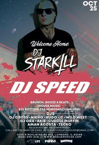 Sunday Smoke Out Brunch w/ Starkill & Dj Speed