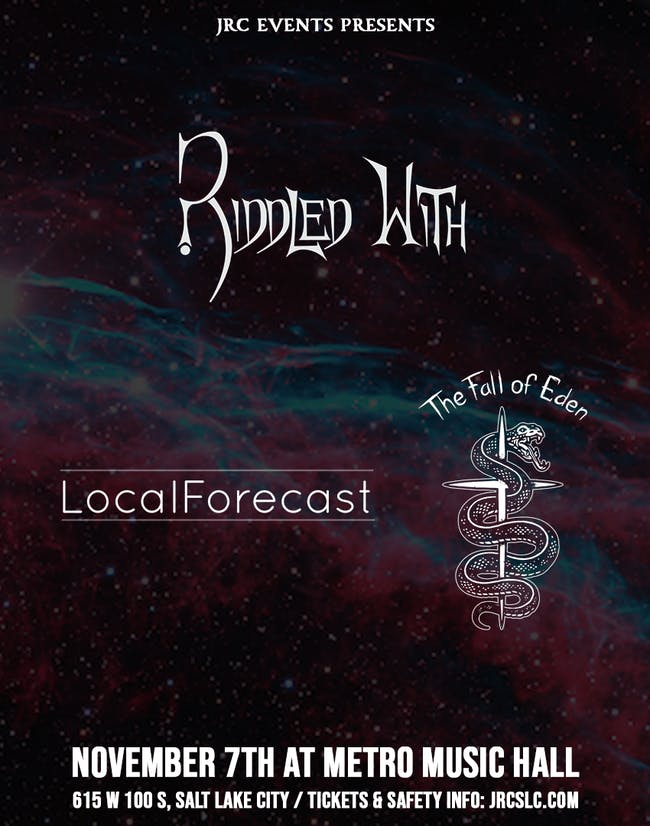LocalForecast, The Fall of Eden, Riddled With *Seated Event*