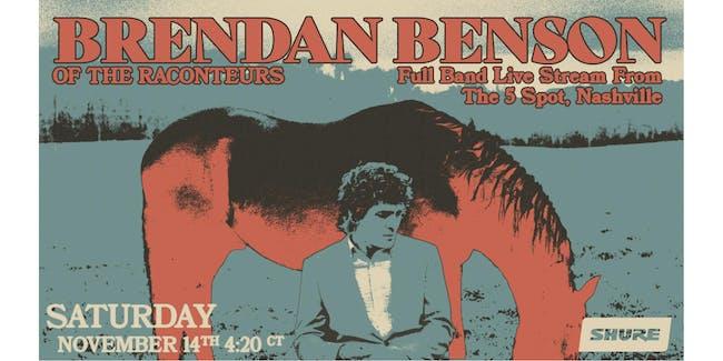 Brendan Benson (Livestream)