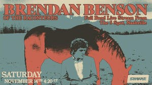 Brendan Benson of The Raconteurs live stream