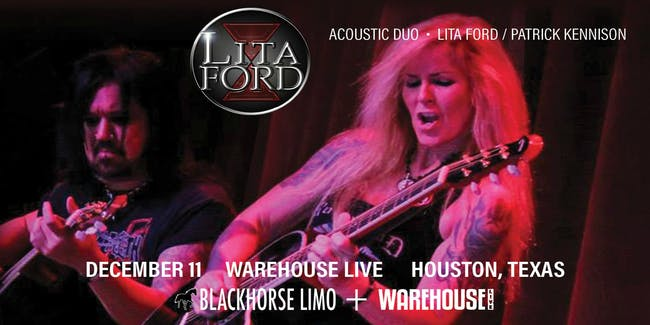 LITA's LIVING ROOM - ACOUSTIC DUO - LITA FORD + PATRICK KENNISON