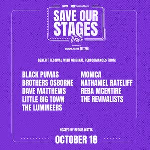 SAVE OUR STAGES FEST - Day 3 *NIVA Emergency Relief Fund Benefit*