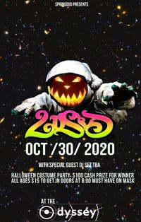 L u S I D Halloween Costume Party @ Odyssey Lounge