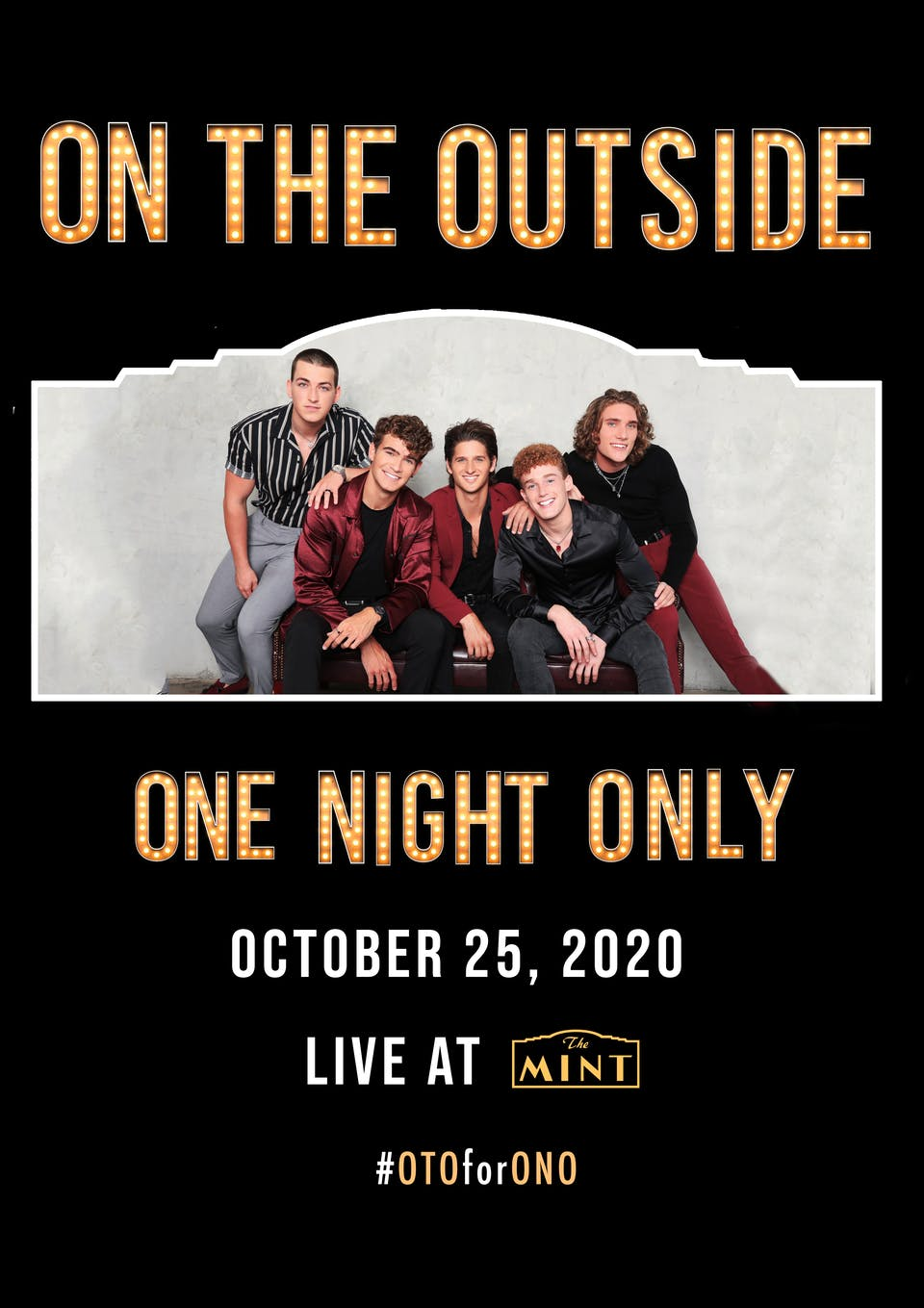 Sean Healy Presents: On The Outside LIVESTREAM Concert