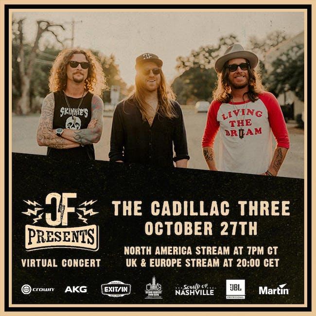 The Cadillac Three Album Release Live Stream