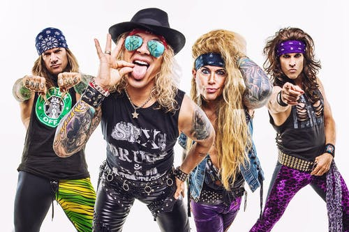 Steel Panther [Late Show]