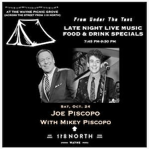 Joe Piscopo (SNL Legend) w/ Mikey Piscopo - From Under The Tent Series
