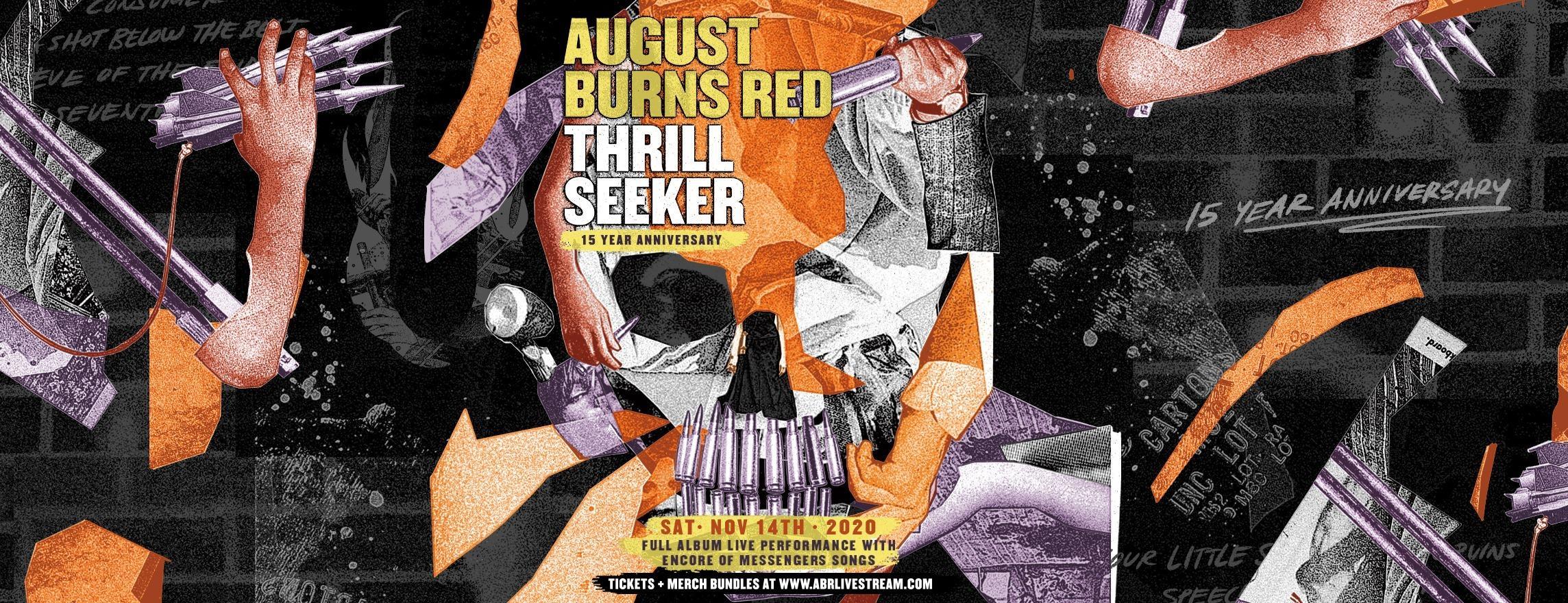 August Burns Red: Thrill Seeker Livestream Concert