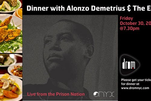 ONLINE LIVESTREAM: Alonzo Demetrius & The Ego: Live from the Prison Nation