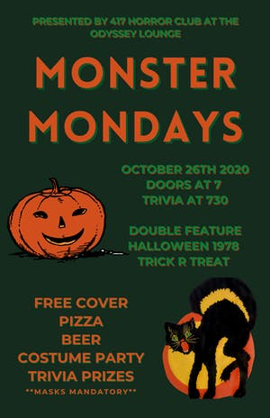 MONSTER MONDAY'S @ Odyssey Lounge