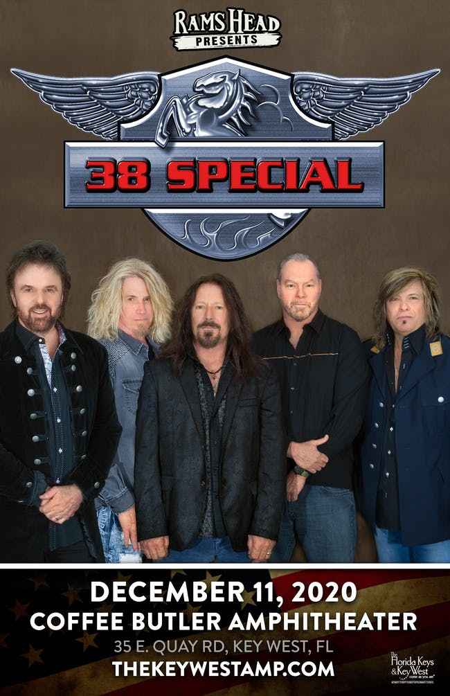 38 Special at Coffee Butler Amphitheater