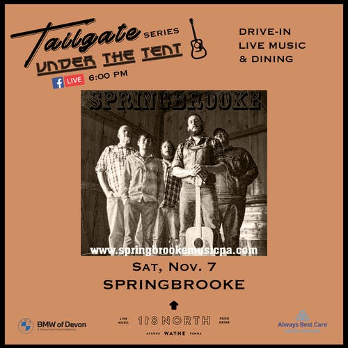Springbrooke - Tailgate Under The Tent Series