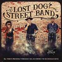 Lost Dog Street Band w/ Matt Heckler
