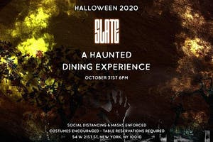 Halloween 2020: A Haunted Dining Experience