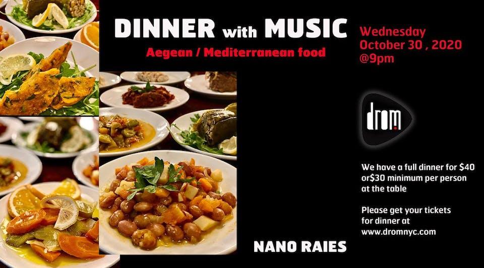Special Dinner Package/ LS: Nano Raies