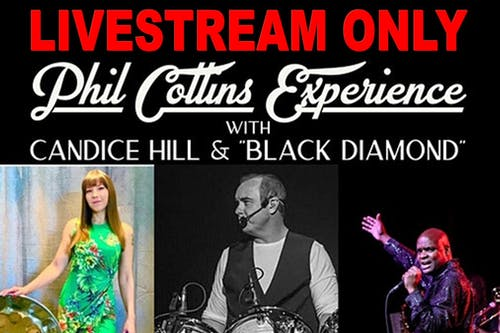 Phil Collins Experience (Livestream Ticket Only)