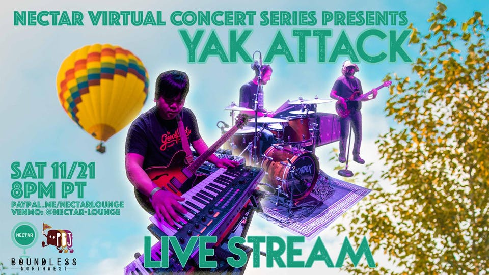 NVCS presents YAK ATTACK (live stream)