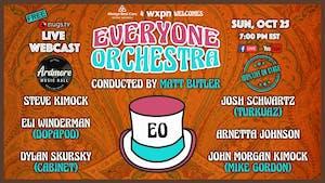 Everyone Orchestra ft. Steve Kimock, Dopapod members,  & More! Live Webcast