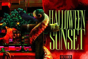 Lique Miami Halloween Sunset Party