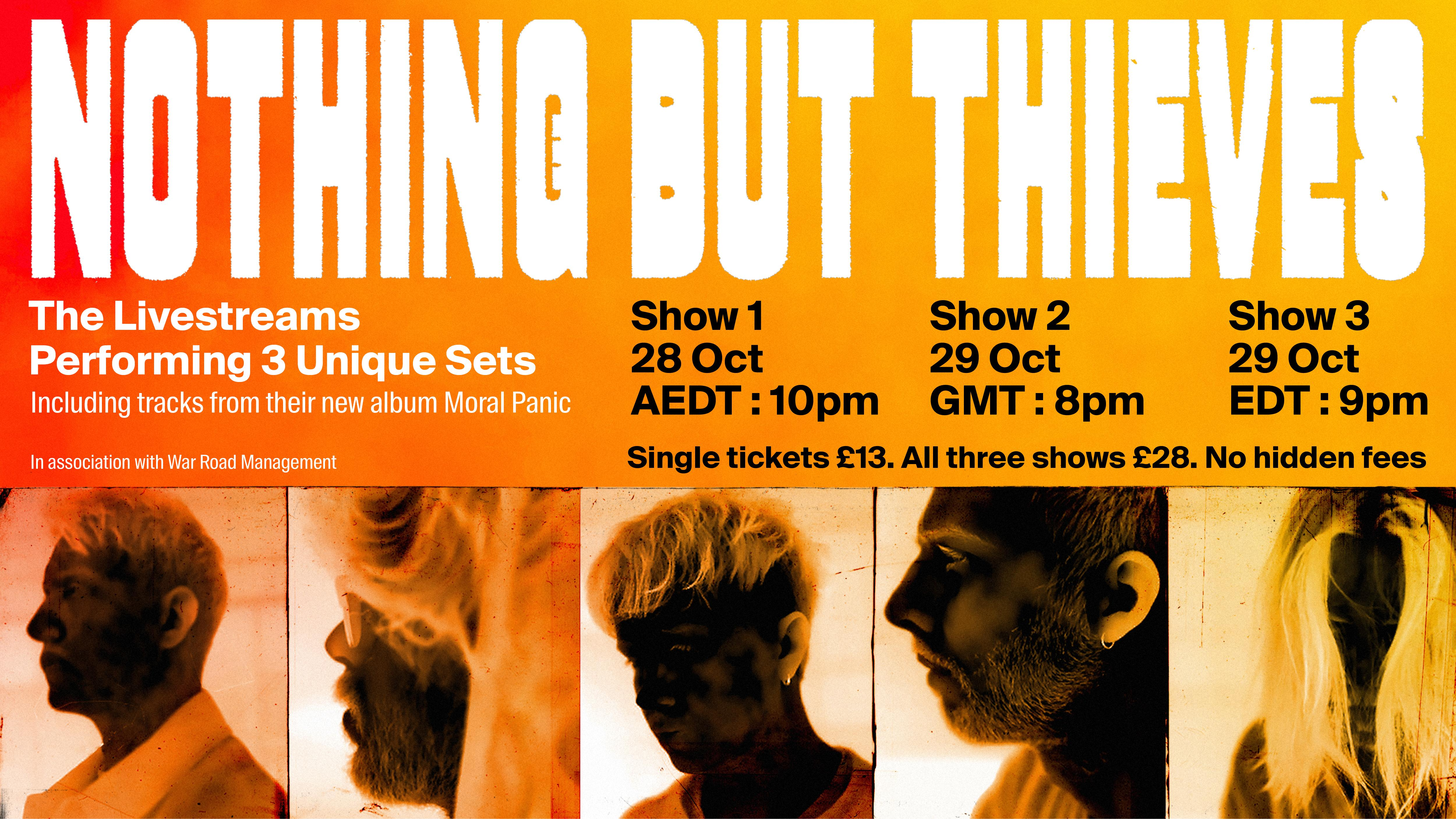 Nothing But Thieves: Live From The Warehouse Livestream Concert