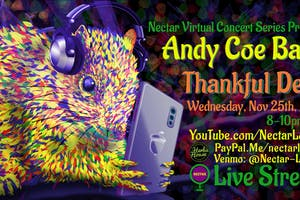 "[postponed] NVCS presents ANDY COE BAND's 5th ""Thankful Dead"" (live stream)"
