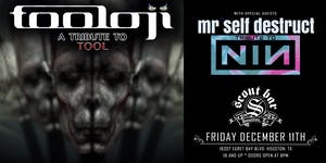 TOOLOJI- a tribute to Tool & MR SELF DESTRUCT- a tribute to Nine Inch Nails