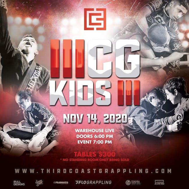 3RD COAST GRAPPLING PRESENTS: 3CG KIDS III