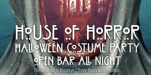 House of Horror Halloween Costume Party 10/30