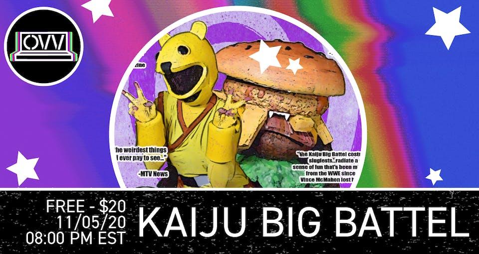Kaiju Big Battel x OVV