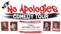 NO APOLOGIES COMEDY TOUR