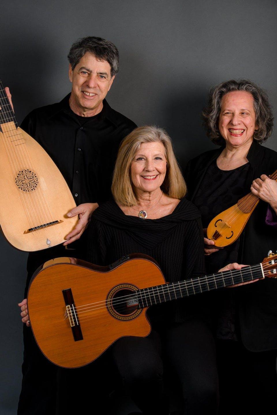 A Song & A Slice (Indoors + Distanced!): Trio Sefardi