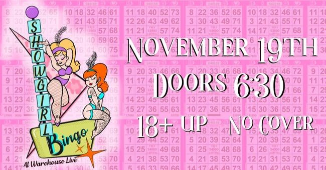 BURLESQUE BINGO - HOSTED BY PIPER DAILY AND NOIR LILLET
