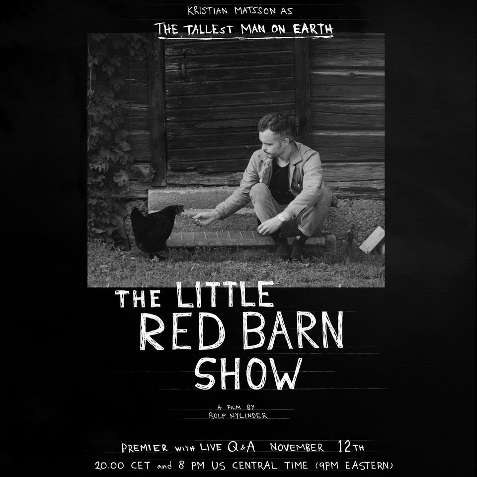 The Tallest Man On Earth (live stream)