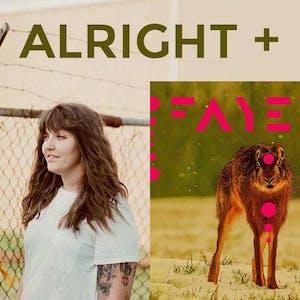 ALRIGHT + FAYE *FREE Streaming on Mandolin & Facebook*