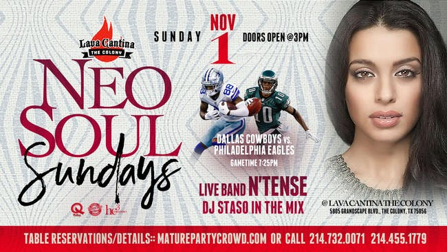 NEO SOUL SUNDAYS feat N'TENSE The Band