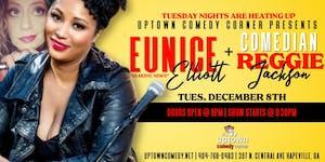 Breaking News With Eunice Elliot & Comedian Reggie Jackson
