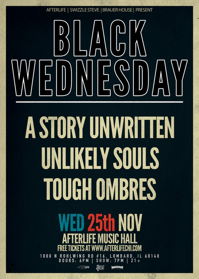 Black Wednesday - A Story Unwritten, Unlikely Soul