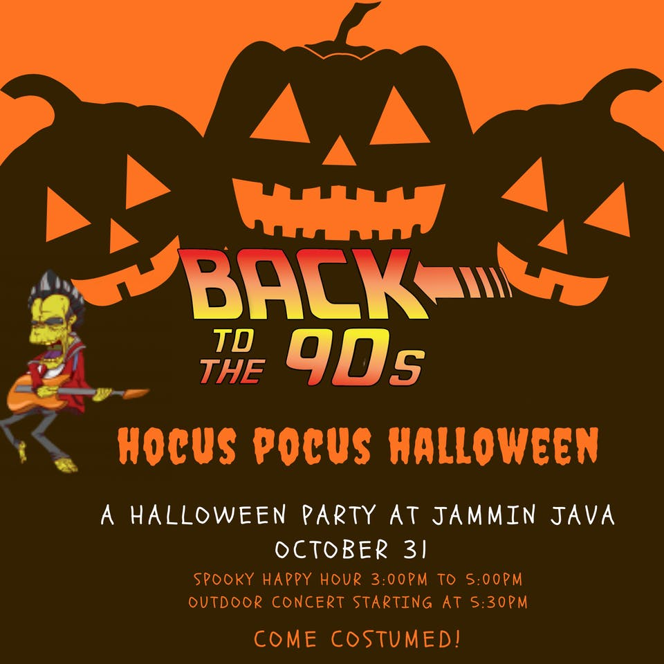 Jammin Java Halloween Party feat. Back to The 90's