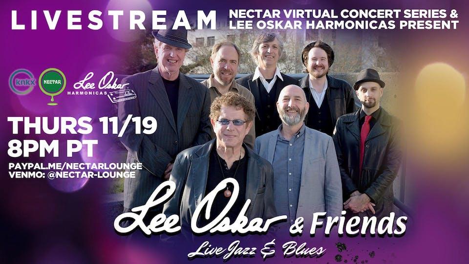 NVCS presents LEE OSKAR & FRIENDS (live stream)
