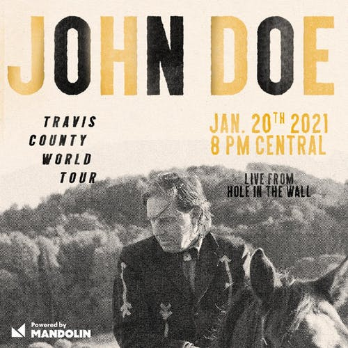 John Doe - LIVESTREAM SERIES