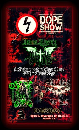 THE DOPE SHOW (Marilyn Manson Tribute)
