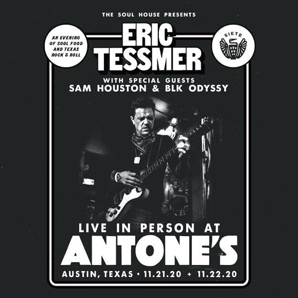 Eric Tessmer w/ Sam Houston & BLK ODYSSY