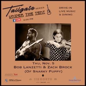 Bob Lanzetti & Zach Brock (Snarky Puppy)  - Tailgate Under The Tent Series