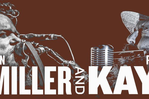 Ben Miller and Pat Kay in the Gospel Lounge