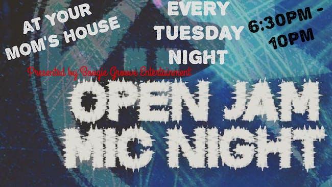 Open Jam Mic Night 1/12