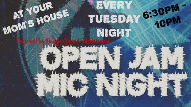 Open Jam Mic Night 12/15