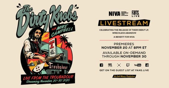 THE DIRTY KNOBS WITH MIKE CAMPBELL - LIVE STREAM