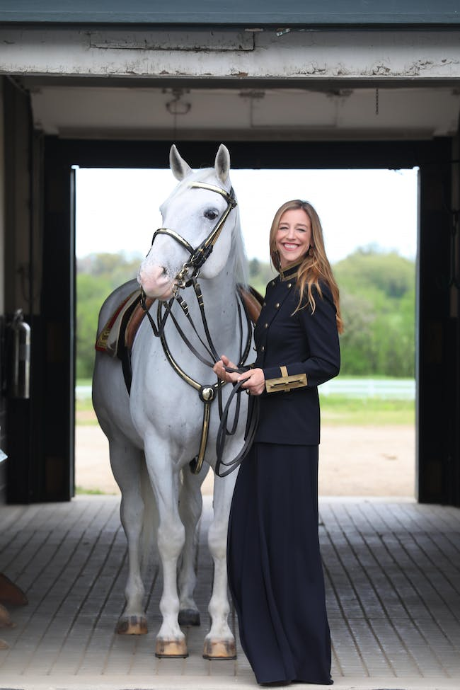 Talk and Tour at the Tempel Lipizzans