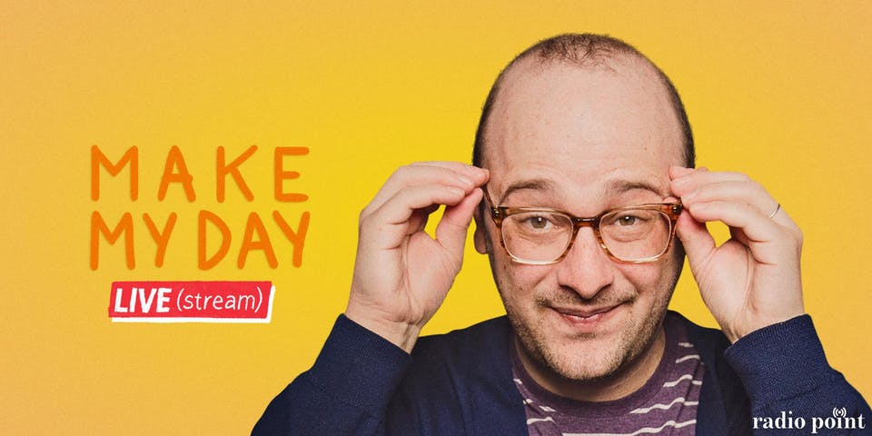 Make My Day Live (stream) with Josh Gondelman