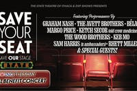Save Your Seat: A Giving Tuesday Virtual Benefit Concert